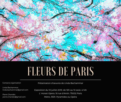 Fleurs de Paris invitation