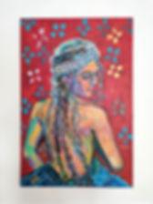 Peinture orientale de Linda Bachammar
