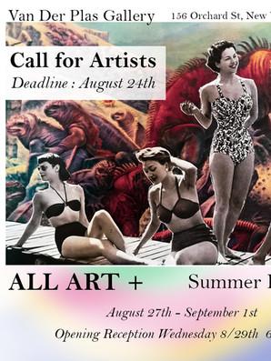Vanderplas Poster, All Art + New York, USA, 2018