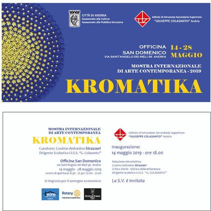 KROMATIKA, Mostra Internazionale d'Arte Contemporanea