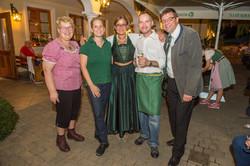 Christine & Sabine Deutsch, Johanna Mikl-Leitner, Josef Deutsch & Michael Oberschil