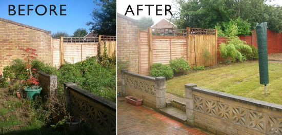 Garden clearing service in Gateshead all rubbish removed and area cleared in Gateshead.