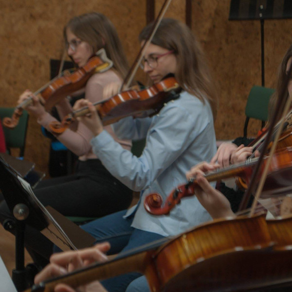Rehersals at Superior Conservatory of Granada, 2017