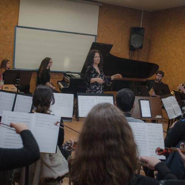 Rehersals at Superior Conservatory of Granada, 2018