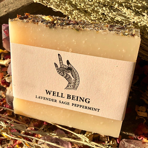 Well Being Goat's Milk 4oz Soap