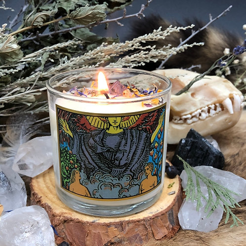 Lovers Tarot 6oz Candle