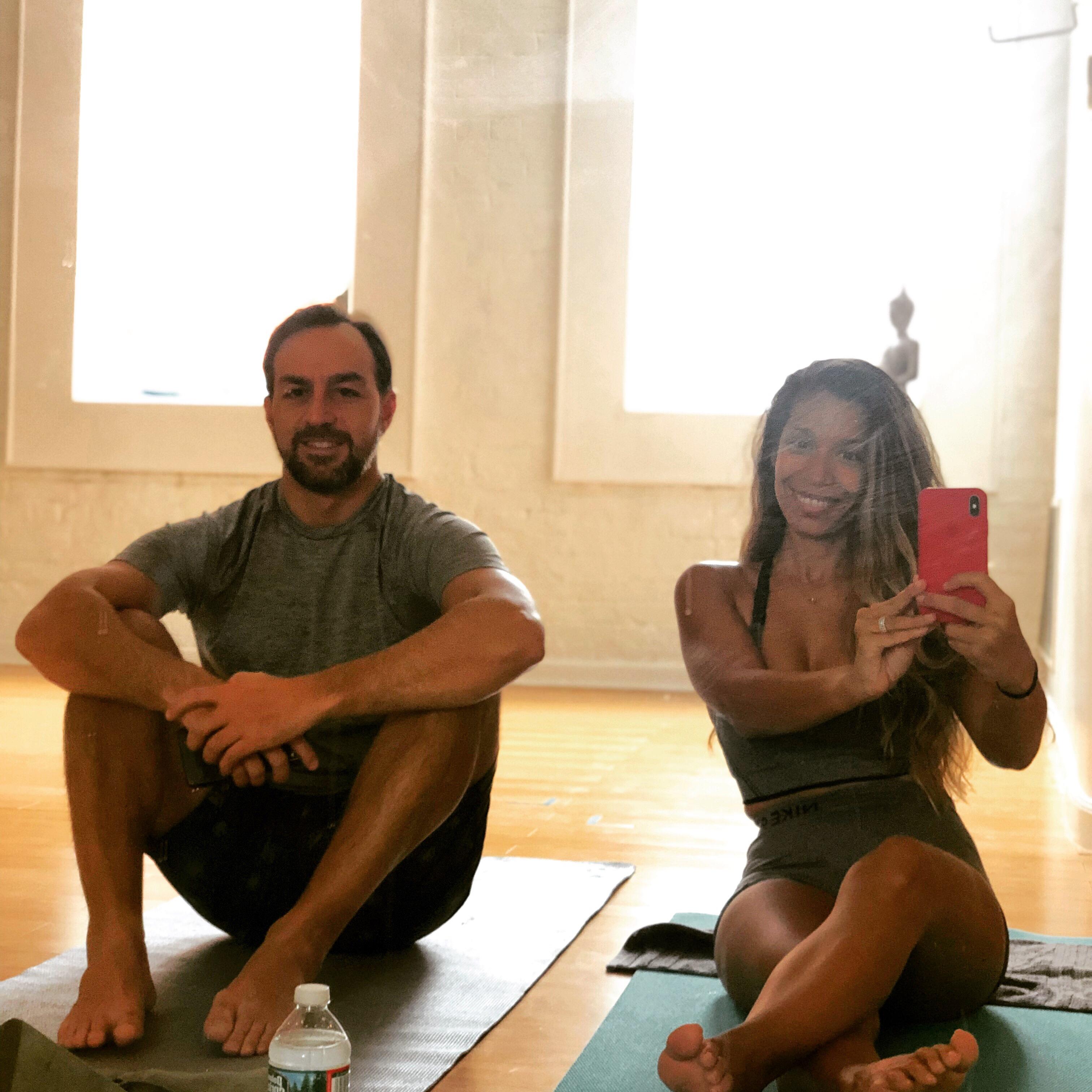 Hot Yoga Hot Wife