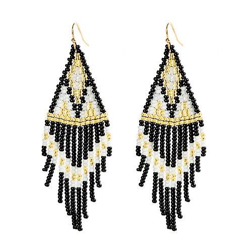 Empire Beaded Earrings