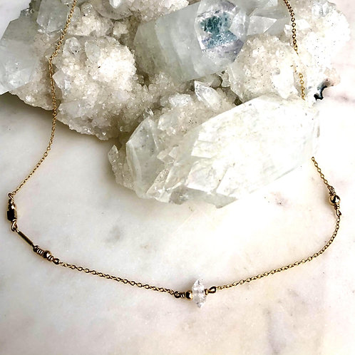 Herkimer Diamond Dolcetti 14K Gold-Filled Necklace