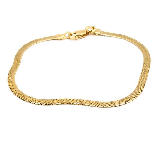 Petite Herringbone Chain Bracelet