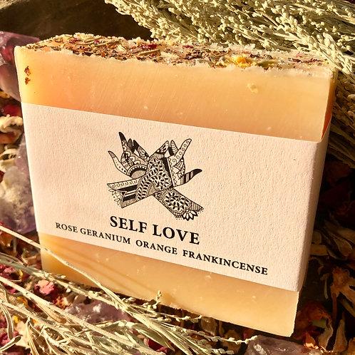 Self Love Goat's Milk 4oz Soap