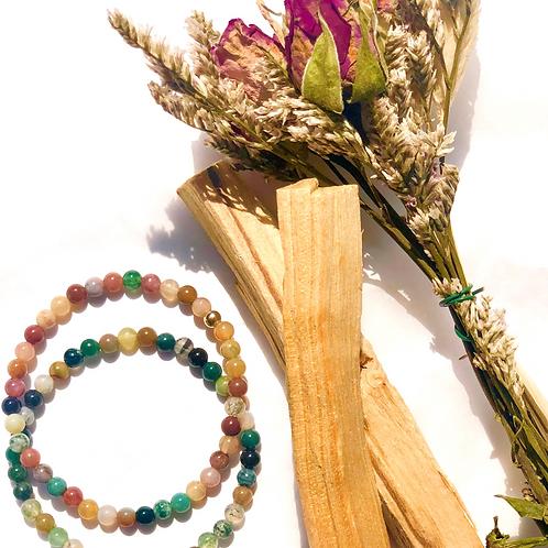 Master Healer Mixed Gemstone Bracelet
