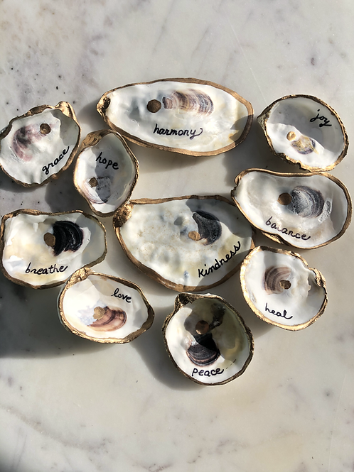 Oyster Bay Inspirational Note Shells