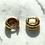 Thumbnail: Ava Gold Huggie Hoops
