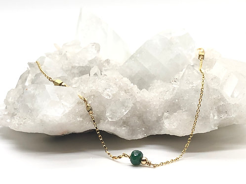 Emerald Dolcetti 14K Gold-Filled Necklace