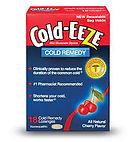 Cold-eeze lozenges