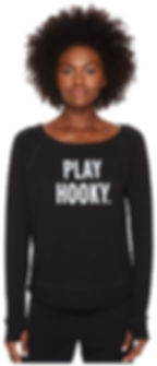 Pay Hooky fitness sweatshirt