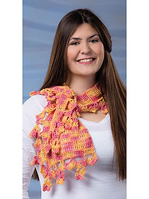 Natsu Crochet Scarf