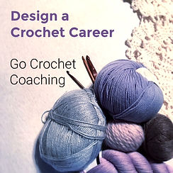 Crochet Career coaching. Becom a designer