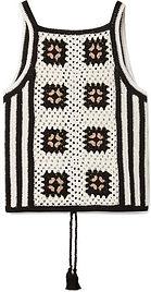 Cool crochet granny vest