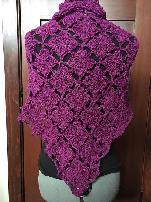 Valentine's Crochet Shawl Pattern