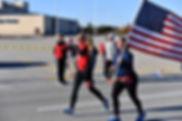 Ellen Gormley running with her BRF