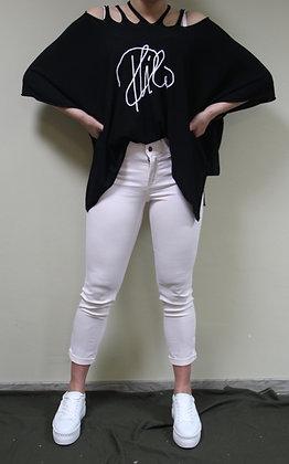 Philomena Christ- schwarzer Pullover