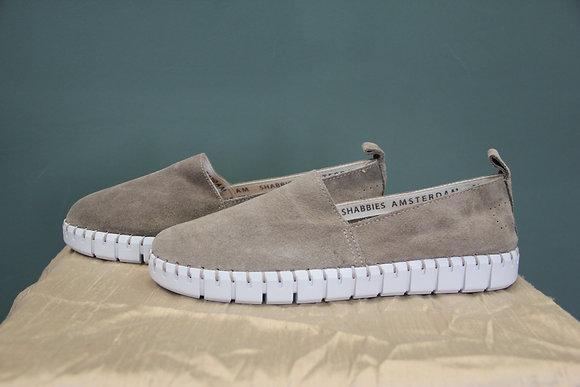 SHABBIES Amsterdam- braune Loafers
