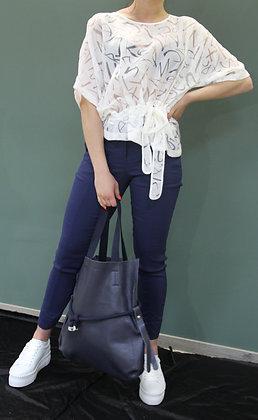 Lara Laurén- blauer Shopper