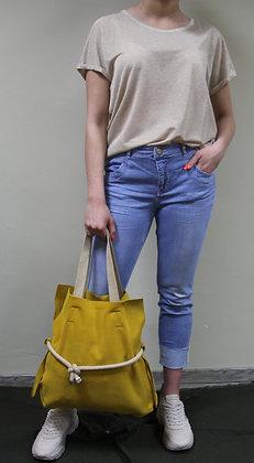 Lara Laurén- gelber Shopper