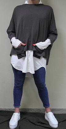 Philomena Christ- brauner Pullover