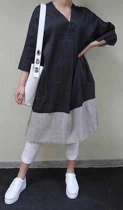 ANNETTE GÖRTZ- Blusen-Kleid Soir