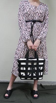 Liviana Conti- schwarze Korbtasche