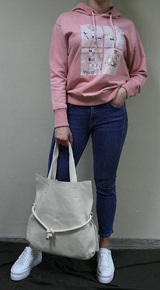 Lara Laurén- creme farbener Shopper