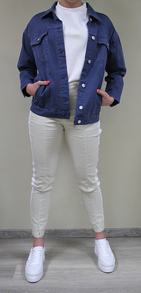 s.Oliver (red Label)- blaue Oversized-Jeansjacke