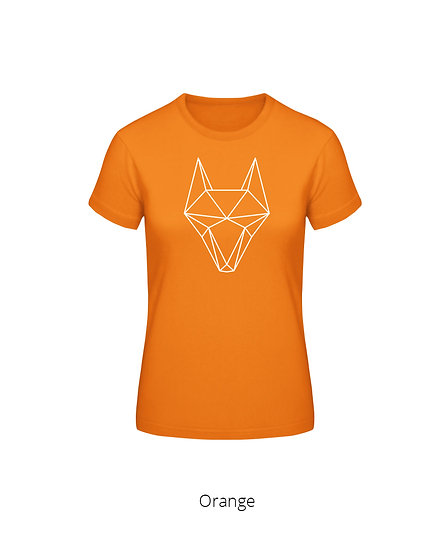 "Woman's T-Shirt ""Contrast Fox"""
