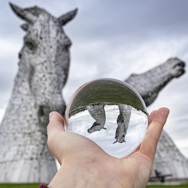 Nobody really knows what Kelpies really look like, as they tend to take the form of beautiful horses to lure unknowing victims to come and touch them - just to then drag them into the water, never to be seen again.