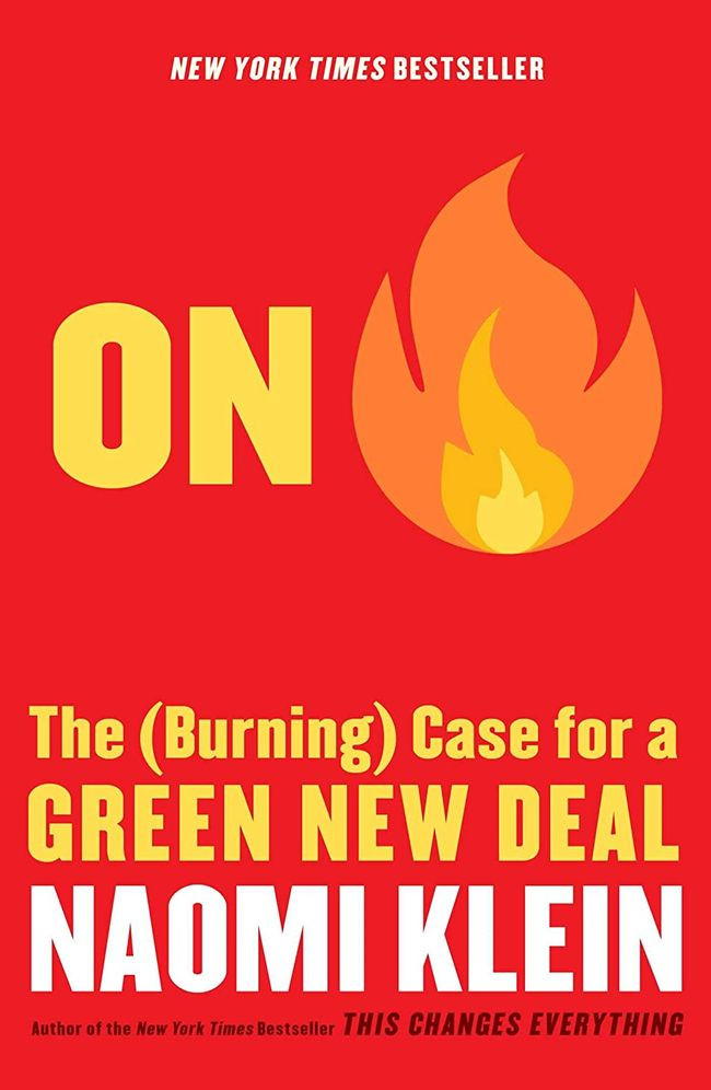 Book On Fire: The (Burning) Case for a Green New Deal