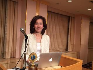 大阪中部ライオンズクラブ様定例会にて講演のご報告