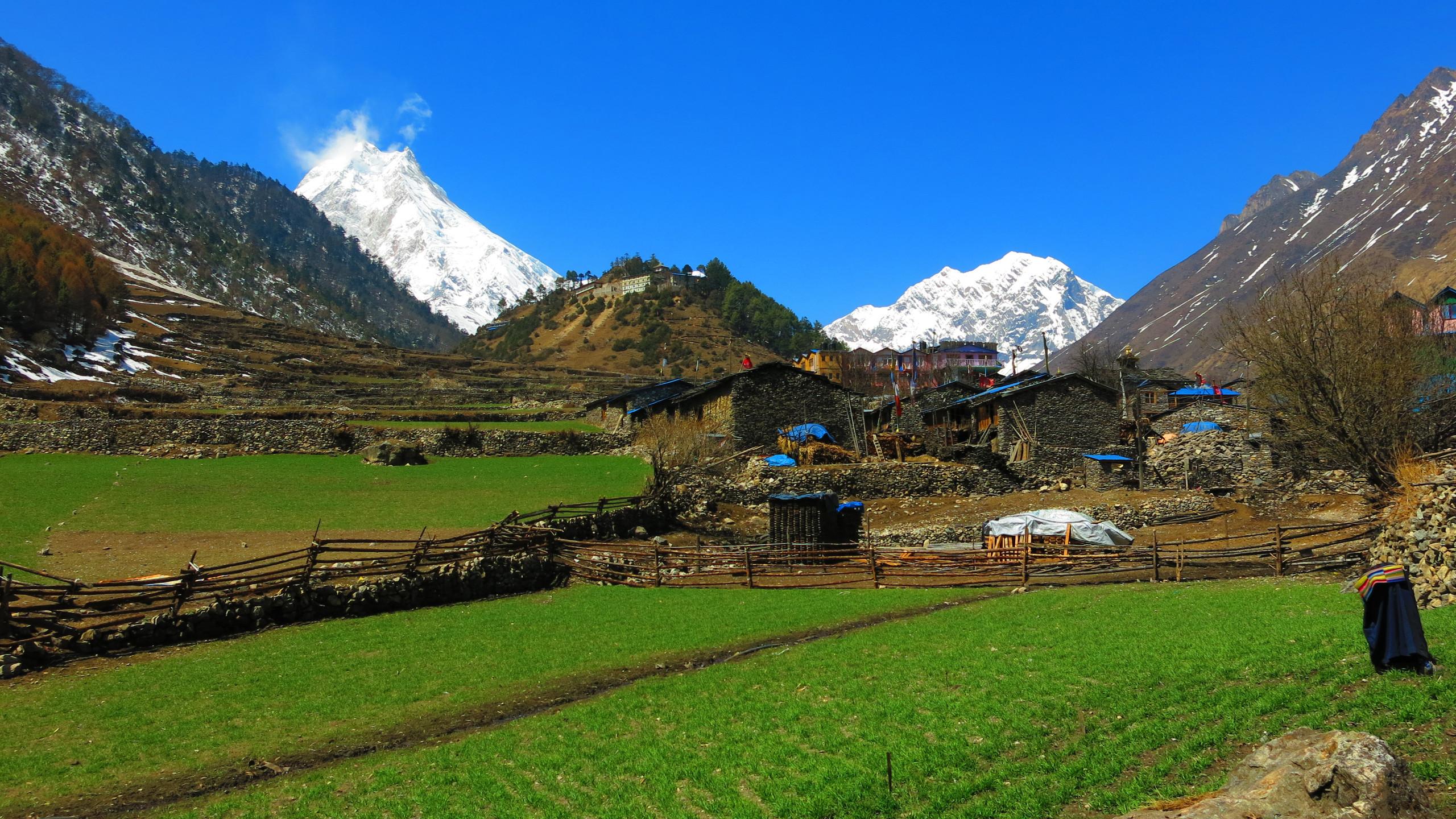 The pristine mountains