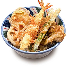 海老野菜天丼