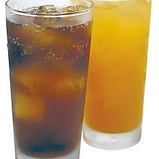 ソフトドリンク(オレンジジュース)