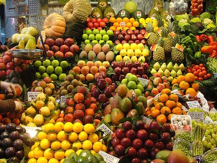 Puesto de frutas