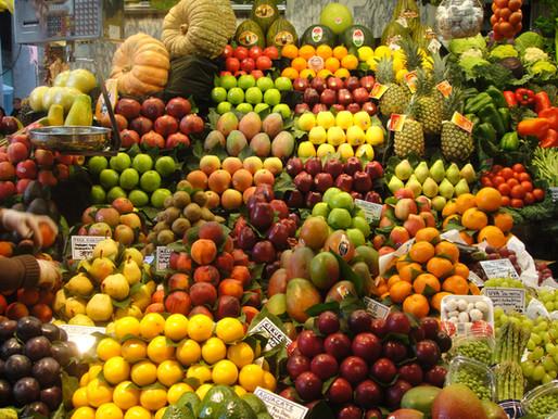 MAYO: FRUTAS Y VERDURAS