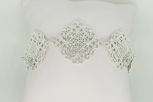Ornamental Diane Link Bracelet