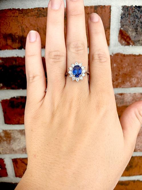 Princess Di Sapphire Ring