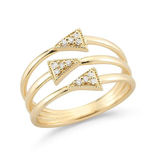 Diamond Trina Ring