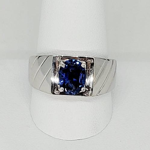 Men's Iolite Ring
