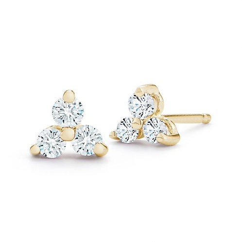 Diamond Trio Earrings