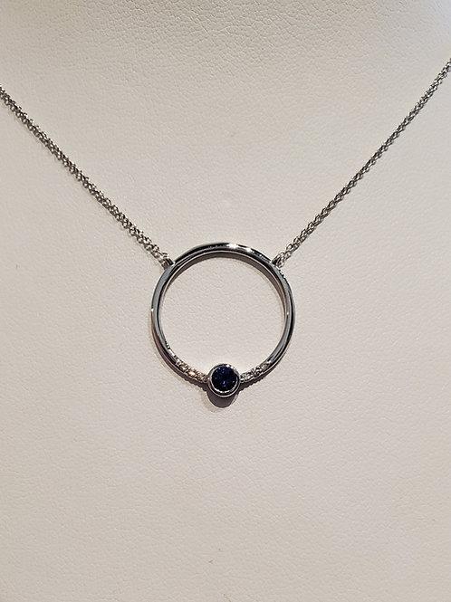 Sapphire Ren Necklace